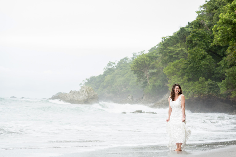 Bride in Costa Rica