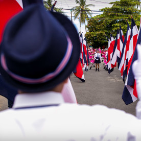 Independence day in Costa Rica