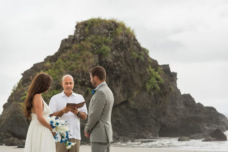 Small wedding in Costa Rica